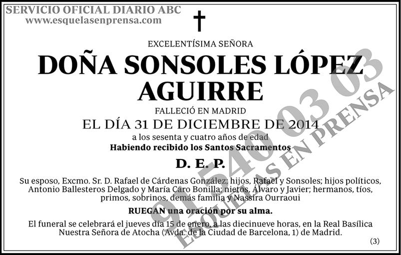Sonsoles López Aguirre